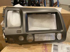 OEM Honda Civic 06-11 Navi Dash Bezel Part No.: 77250-SNA-A01ZB Panel *YR334L* (US TAUPE GUN METALLIC) for Sale in Concord, CA