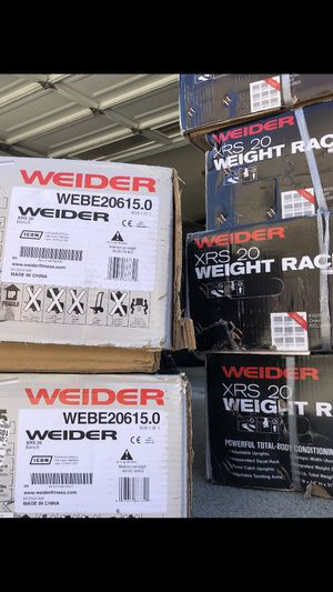 Brand new in box - Weider XRS 20 weight rack for Sale in Lawndale, CA