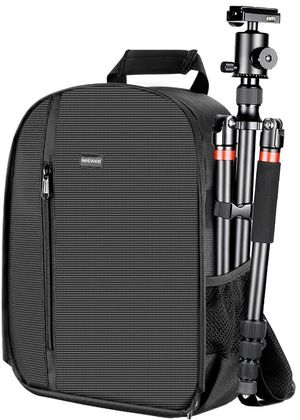 Neewer Camera Case Waterproof Shockproof 11.8x5.5x14.6 inches/30x14x37 Centimeters Camera Backpack Bag with Tripod Holder for DSLR, Mirrorless Camera for Sale in Norwalk, CA