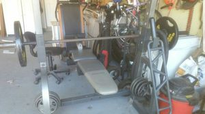 Weight set good condition 160 for Sale in Lithonia, GA