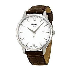 TISSOT 1853 T-Classic Tradition Silver Dial Men's Watch (Preowned) - $175 for Sale in Fairfax, VA
