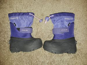 Columbia Little Kids Powderbug Plus II Snow Boots for Sale in Keizer, OR