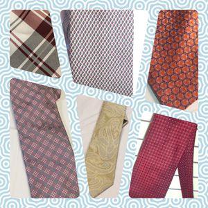 Six designer men's Neckties for Sale in Tampa, FL