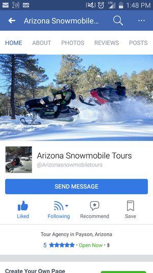 Arizona snowmobile tours for Sale in Phoenix, AZ