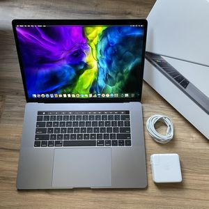 """FAST 2.9GHz i7 512GB SSD Touch Bar 15"""" MacBook Pro High Performance Very Similar To 18 2019 And 16"""" 2020 for Sale in Los Angeles, CA"""