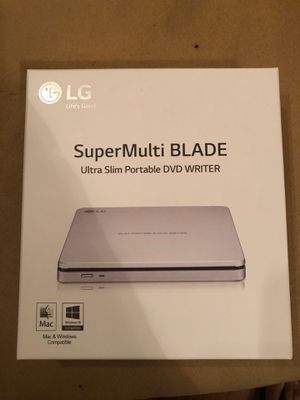 LG Super Multi Blade external CD/DVD RW for Sale in Ormond Beach, FL
