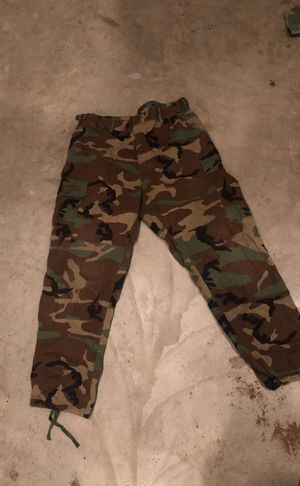 Military issued woodland bdu pants for Sale in Clovis, CA