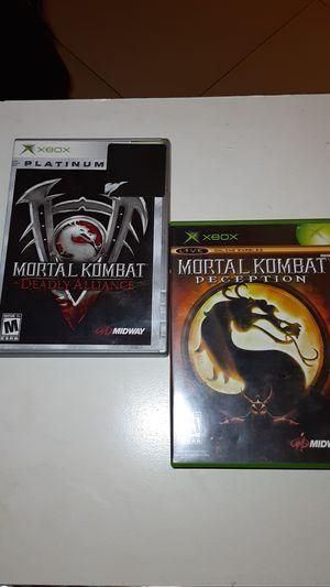 Mortal Kombat Xbox Bundle for Sale in Montclair, CA