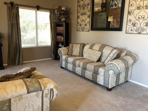 Couch, love seat & large chair 3 pc set. for Sale in Queen Creek, AZ