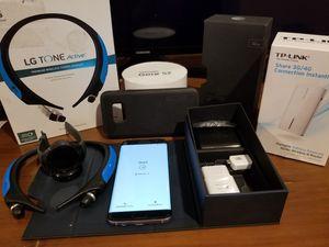 ATT s7 edge + gear s2 watch + lg headphones + tp link 3g/ wifi router for Sale in Manchaca, TX