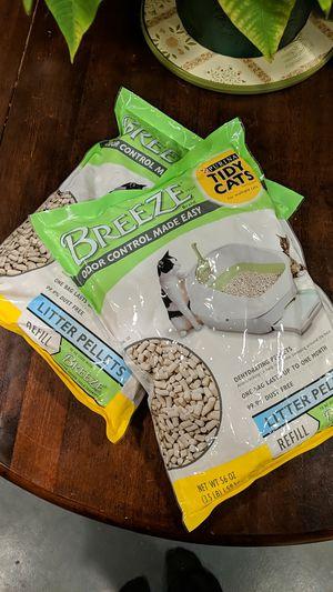 Breeze Litter Pellets refill - cat litter for Sale in Riverbank, CA