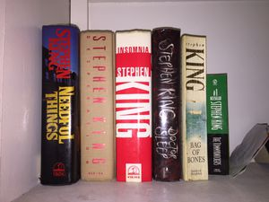 Stephen King book collection for Sale in Klamath Falls, OR