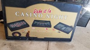 Full casino set for Sale in Rancho Cucamonga, CA