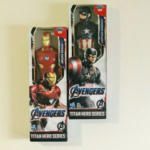 Iron Man & Captain America action heros for Sale in Gurnee, IL