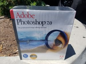 NEW - Adobe Photoshop 7.0 for Apple Mac OSX & OS9 for Sale in Escondido, CA