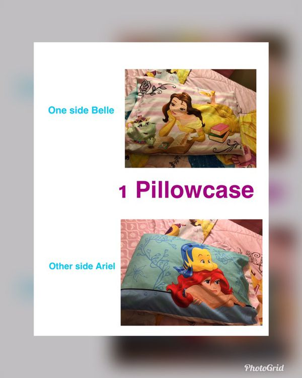 Twin princess bedding