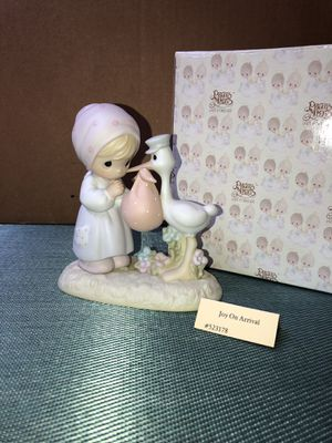 "Precious Moments figure ""joy on arrival "" for Sale in Wildomar, CA"