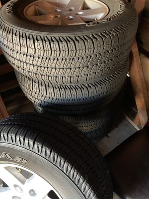 Jeep Wrangler wheels and tires. Brand new for Sale in San Diego, CA