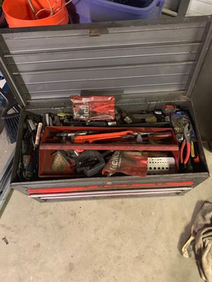 Toolbox tools. for Sale in Rancho Cucamonga, CA