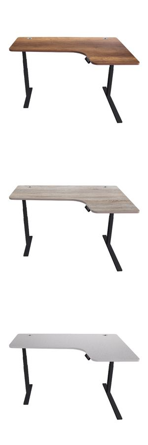 Azure Sky Electric Height Adjustable Desk 63-Inch L-shape for Sale in Los Angeles, CA