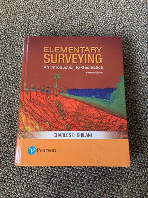 Elementary Surveying Geomatics 15th edition for Sale in Vancouver, WA