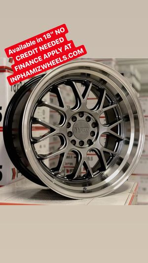 """18"""" F1R wheels ( No Credit Check Finance Available Only $40 Down ) for Sale in Stamford, CT"""