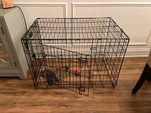 Dog cage and dog accessories for Sale in Worth, IL