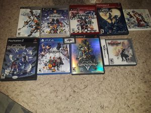 Kingdom hearts collection for Sale in San Antonio, TX