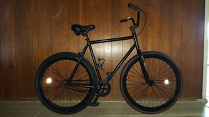 """Black Authentic """"Custom G-Ride"""" Fixie Freestyle Single-Speed Bike Large Size 60 In Excellent Condition 10/10. for Sale in ROWLAND HGHTS, CA"""