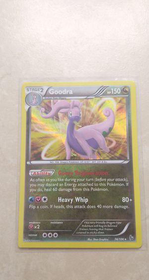 Goodra Holo Pokemon Card***Read Description*** for Sale in Palm Bay, FL