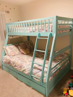 Bunk bed (twin over full bed) mattress included for Sale in Maple Valley, WA