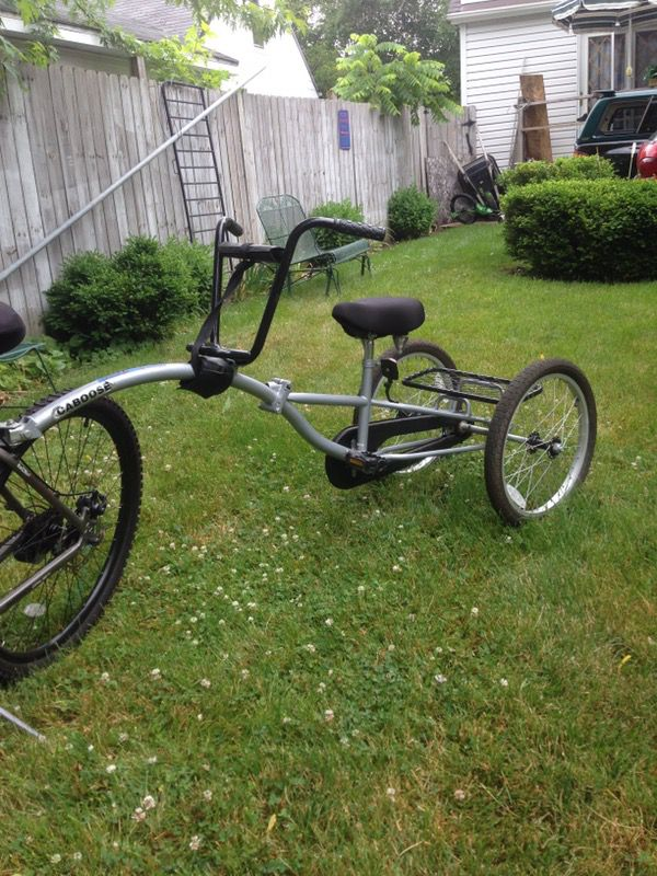 Silver Caboose Bike Trailer For Sale In Waukegan Il Offerup