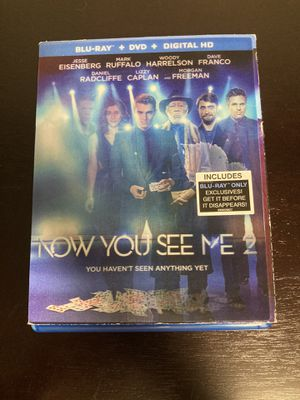 Now You See Me 2 - Blu-ray & DVD for Sale in Issaquah, WA