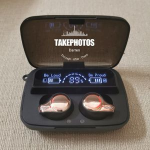 (B25) Bluetooth 5.1 True Wireless Touch Control Headphones Waterproof Earbuds Headset for Sale in La Habra, CA