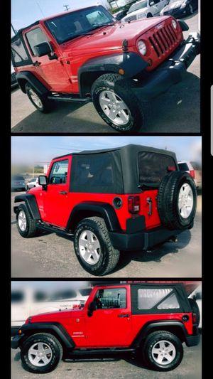 ☆2011 JEEP WRANGLER SP0RT 4WD (111k miles)☆ for Sale in San Antonio, TX
