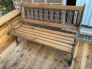 Outdoor Woden bench for Sale in San Jose, CA