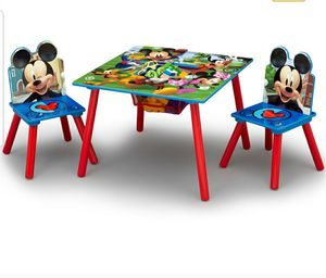 Mickey Mouse table & 2 chair set for Sale in San Lorenzo, CA