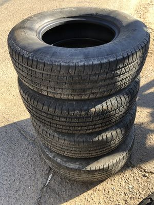 Trailer tires 225 75 15 Carlisle for Sale in El Cajon, CA