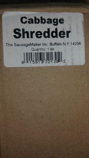 Stainless steel cabbage shredder for Sale in Cincinnati, OH