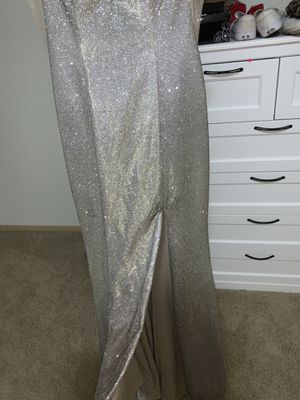 Silver sparkly prom dress for Sale in Portland, OR