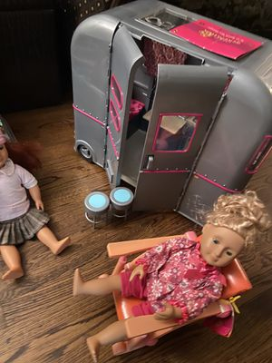 Our generation doll, RV and chair for Sale in Long Beach, CA