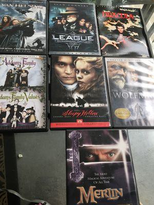Lot of 7 horror/thriller movies for Sale in St. Petersburg, FL