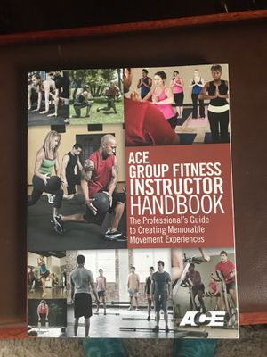 ACE Group Fitness Certification Textbook for Sale in Framingham, MA