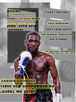 Live Professional Boxing for Sale in Washington, DC