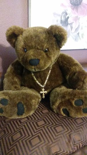 14 karat gold chain and cross for Sale in Auburn, CA