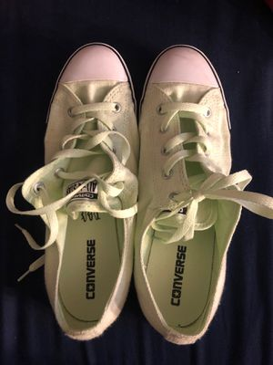 Lime green converse for Sale in North Royalton, OH