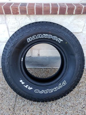 1 Brand NEW Hankook Dynapro ATM Tire (265/75R16) for Sale in Frisco, TX