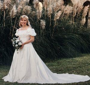 Jasmine Wedding Dress and Matching Veil for Sale in Sanford, FL