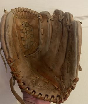 """TWO Genuine Leather 11.5"""" Baseball/Softball Gloves by Rawlings for Sale in Fort Lauderdale, FL"""