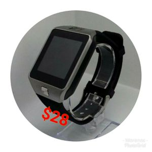 BLUETOOTH SMART WATCH FOR IPHONE AND ANDROID SIM CARD AND SD CARD SLOT NEW WATERPROOF for Sale in Orange, CA
